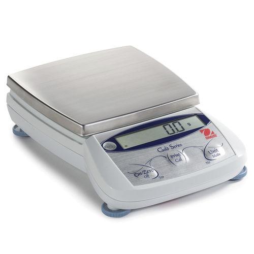 каратный весы / с дисплеем LCD / поддон из нержавеющей стали / для бижутерии