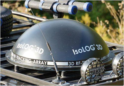 антенна для слежения / радио / 3D / изотоп