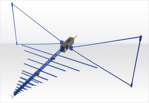 антенна радио / биконическая / логарифмически-периодическая / гибридная