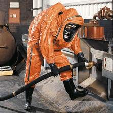 Огнестойкий рабочий костюм / с химической защитой / из полиэтилена / из бутилового каучука ContiBarrierSystem® CONTITECH