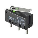 микропереключатель с рычагом / однополярный / электромеханический