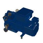 компрессор для воздуха / стационарный / переменная производительность / винтовой