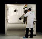 машина для нанесения покрытий PVD / термическим испарением / тонких слоев / для оптоэлектроники