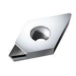 резательная пластина PCD / CVD / для твердых и хрупких материалов / со стружколомом