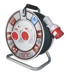 наматывающее устройство для кабелей / ручное / с открытым барабаном / переносное