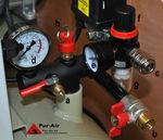 компрессор для воздуха / подвижный / без масла / на резервуаре