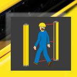 легкий барьер защита тела / безопасности тип 4 / для контроля доступа / многолучевой