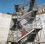 Прямая лестница / металлическая / резервная  Hünnebeck GmbH