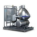центробежный сепаратор / для молока / для пищевой промышленности / вертикальный