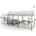 горизонтальная машина для оклейки паллетов / автоматическая / для замороженного продукта питания / со стрейч-пленкой