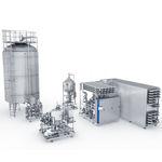 теплообменник жидкость/жидкость / жидкость/газ / стерильный / для пищевой промышленности