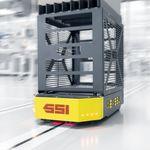 погрузчик AGV для разгрузочно-погрузочных работ / для складов