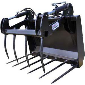 сельскохозяйственный вилочный захват / для компактных погрузчиков / для сельскохозяйственной техники