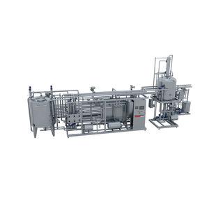 пастеризатор для производства напитков / для фруктового сока / полуавтоматический / полностью автоматический