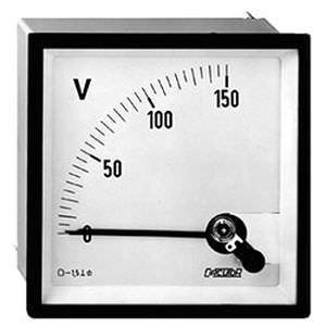 аналоговый вольтметр