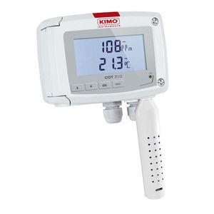 преобразователь температуры и CO2 для монтажа в стену