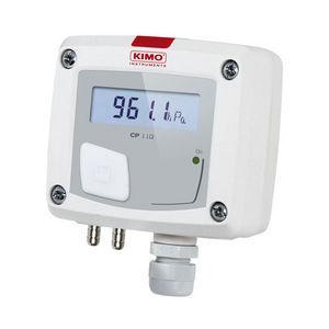 атмосферический датчик давления / мембранный / аналоговый / для монтажа в стену