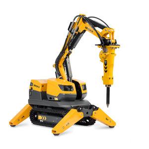 робот для демонтажа с дистанционным управлением / для атомной промышленности / компактная