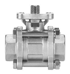 клапан с плавающим сферическим золотником / с ручным управлением / электрический / пневматический