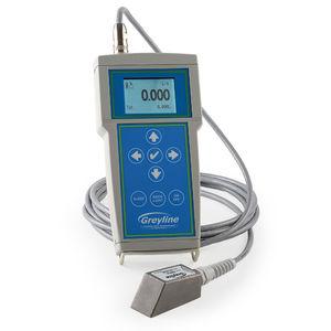 ультразвуковой расходомер с применением эффекта Допплера / для жидкостей / с дисплеем LCD / цифровой