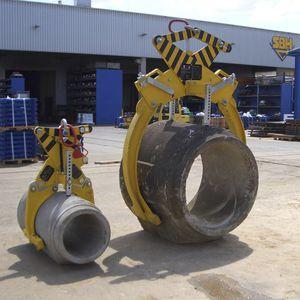 грейфер перегруппировки / механический / для шланга / для элементов из бетона
