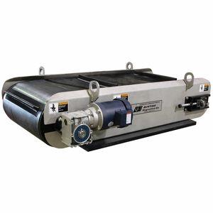 магнитный сепаратор / ленточный / частицы / для металлов