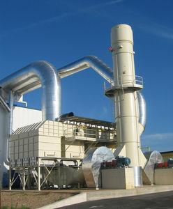 регенеративная система окисления / термическая / для уменьшения летучих органических соединений