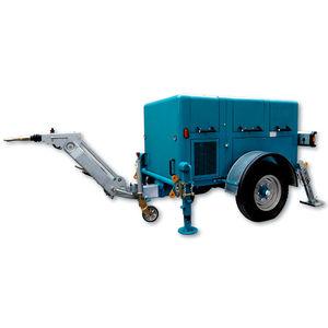 гидравлическая лебедка / с двигателем внутреннего сгорания / для санации шлангов