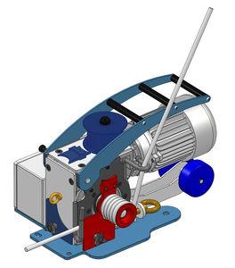 электрическая лебедка / для подъема / для разгрузочно-погрузочных работ / компактная