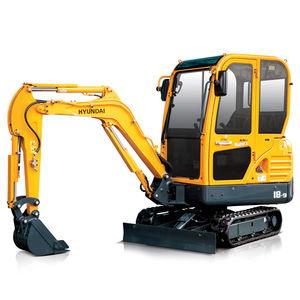 экскаватор мини / гусеничный / дизельный / для строительной площадки