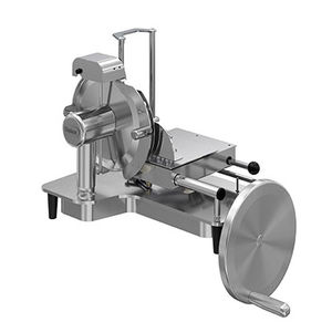 машина для нарезки для ветчины / автоматическая / вертикальная