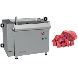 машина для нарезания на кубики для мяса / для рыбы / компактная / из нержавеющей стали