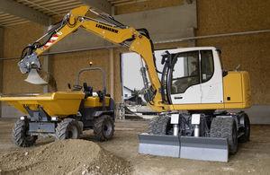 промежуточный экскаватор / колесный / Tier 3 / для строительной площадки