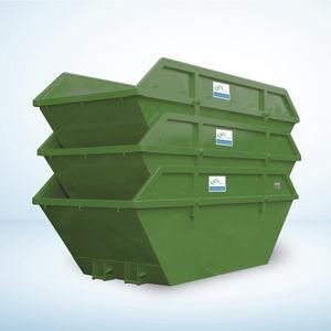 мусорный контейнер из пластика