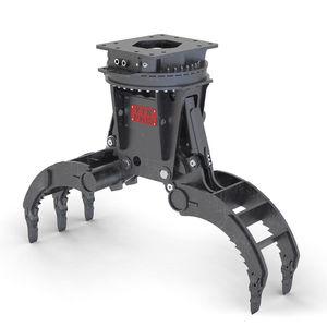 грейфер для сортировки / гидравлический / для экскаватора / для элементов из бетона