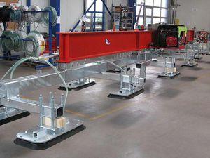 вакуумное подъемное устройство для листового металла / для листов фанеры / для бетонной пластины / для ящиков