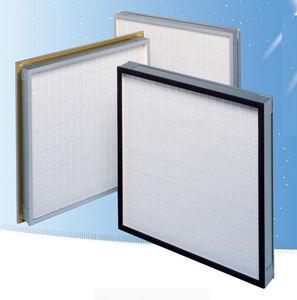воздушный фильтр / панельный / складчатый / мини-складки