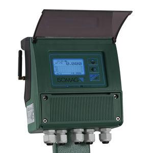 электромагнитный расходомер / магнитный / для жидкостей / цифровой