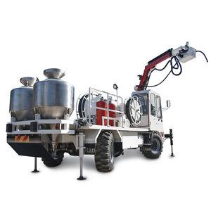 дизельный грузовой автомобиль / для подземной шахты