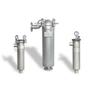 одномешочный картер для фильтра / с множеством отделений / для жидкостей / для масла