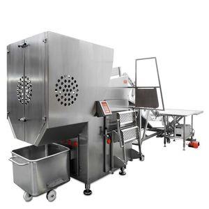 машина для рубления замороженного мяса из нержавеющей стали