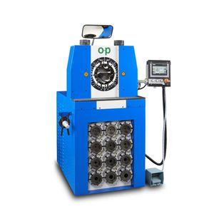 закаточная машина для гибкого шланга / полуавтоматическая / гидравлическая / контролируемая PLC