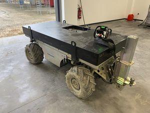 трактор с тепловым двигателем