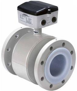электромагнитный расходомер / для воды / с фланцем