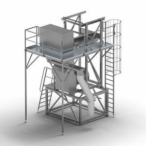 очистительная установка с продувкой воздухом