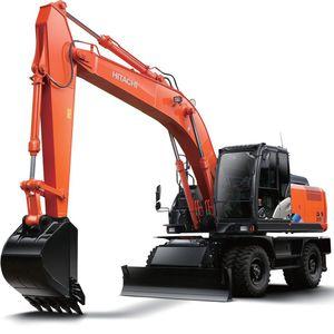 промежуточный экскаватор / колесный / для строительной площадки