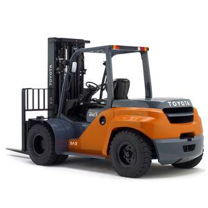 подъемная тележка с противовесом / дизельная / с местом для сидения водителя / промышленная