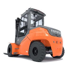 подъемная тележка тяжелый грузовой автомобиль / электрическая / с местом для сидения водителя / для использования в помещениях