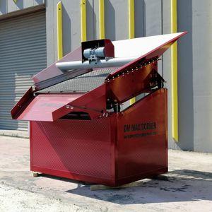 грубое сито для сыпучих материалов / для строительной площадки / для шахты / ленточный конвейер