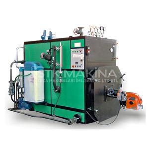 Промышленный парогенератор на газу ткань для столового белья купить в минске